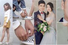 12 Foto couple ini gagal romantis kalau di zoom, kocak