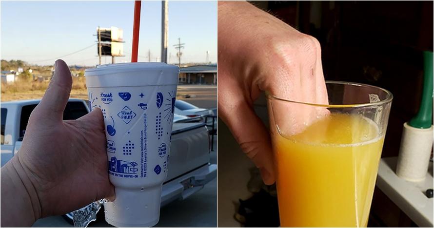 15 Cara orang pegang gelas ini dijamin bikin tepuk jidat