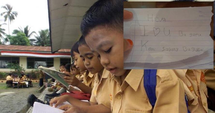 4 Surat perpisahan anak SD untuk kepindahan gurunya, bikin haru