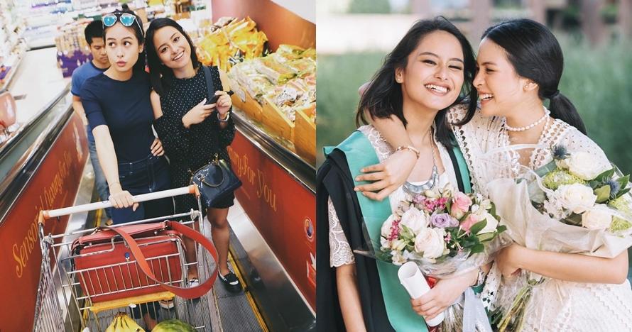 13 Potret kebersamaan Maudy Ayunda & Amanda, sibling goals abis