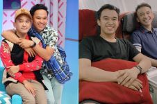 8 Momen kedekatan Ruben Onsu & Anwar Sanjaya, bak saudara kembar