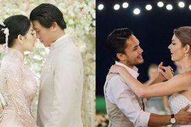 Potret mesra 9 seleb yang menikah di awal 2019, bikin baper