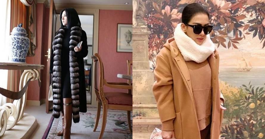 7 Koleksi jaket cetar Syahrini, ada yang Rp 100 jutaan