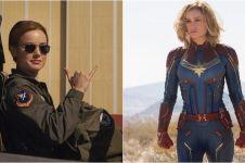 10 Gaya anggun Brie Larson 'Captain Marvel' ini memesona banget