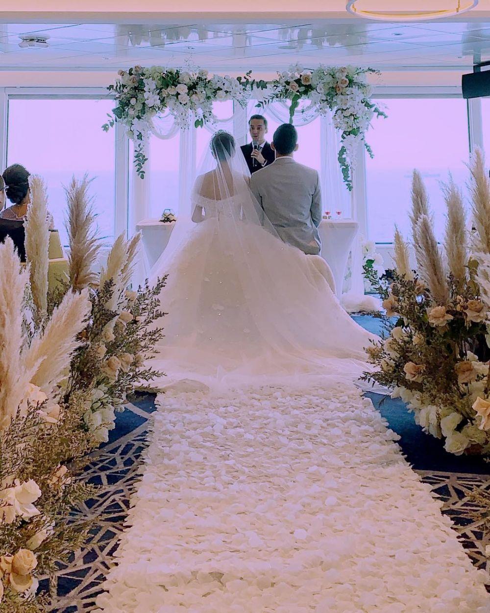 pernikahan Yuanita Christiani  © 2019 brilio.net