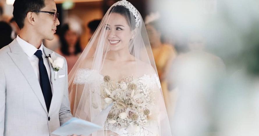 14 Momen pernikahan Yuanita Christiani di kapal pesiar, penuh haru