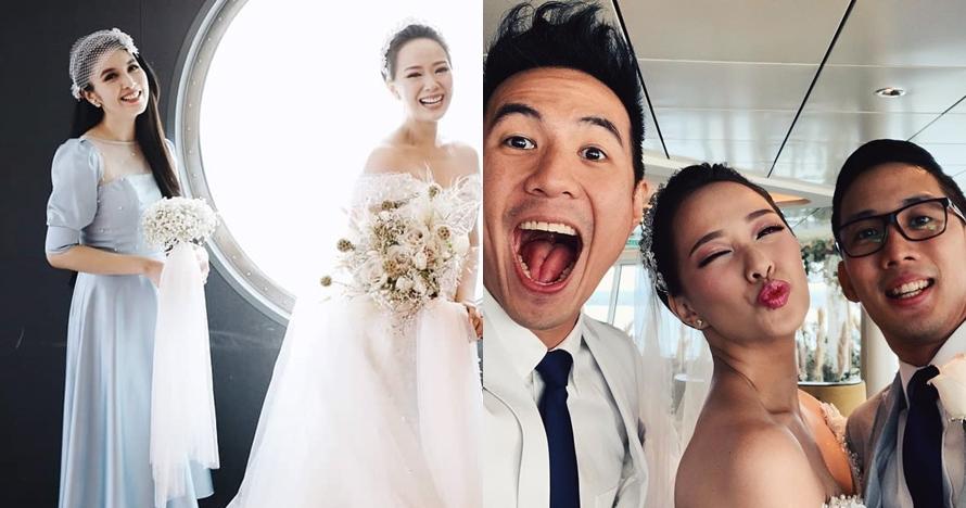 Gaya 6 seleb hadiri pernikahan Yuanita, Sandra Dewi curi perhatian