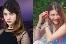 10 Pose manis Cassandra Lee si tokoh jahat Cinta Misteri, beda abis