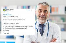 10 Cuitan lucu 'tanya dokter' ini recehnya dijamin bikin tepuk jidat