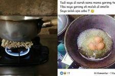 10 Cara masak di negara 'berflower' ini bikin ngakak kesel