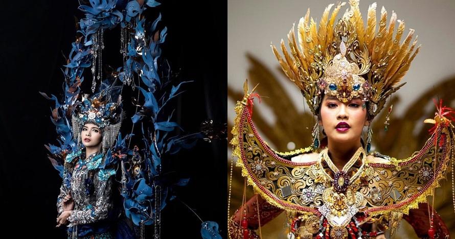 Potret busana Puteri Indonesia 2019 dari 10 daerah ini bikin takjub
