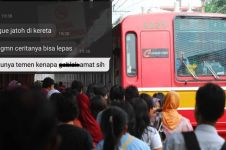 Kisah cewek kehilangan bra akibat berdesakan di KRL ini viral