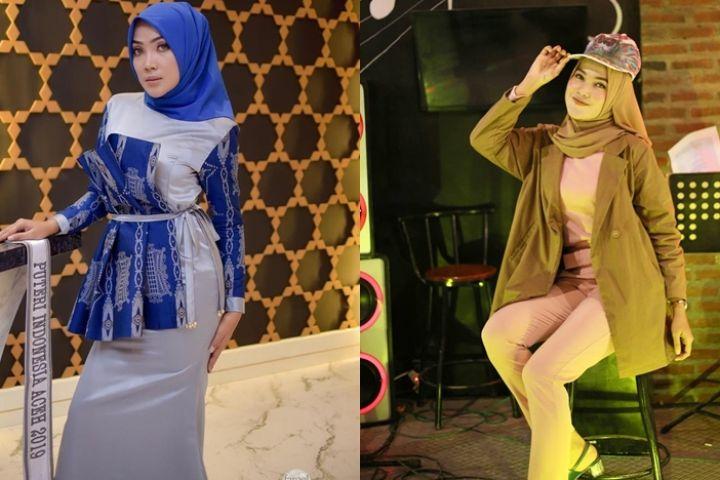 12 Pesona Kenny Suwanda, finalis Puteri Indonesia yang berhijab