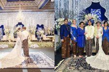 10 Foto pernikahan mewah Aditya Trihatmanto & Kezia Toemion