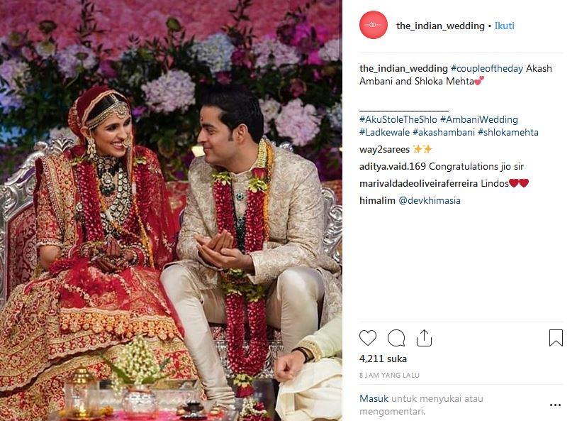 Gaya 13 artis Bollywood hadiri pernikahan putra orang terkaya Asia berbagai sumber