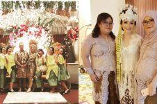 10 Momen pernikahan Kinal eks JKT48, usung dua adat sekaligus