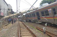 KRL anjlok di Bogor, korban luka capai 17 orang