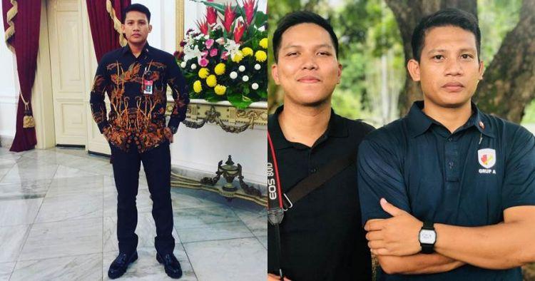 10 Pesona Andri Sabar, Paspampres pengawal Jan Ethes