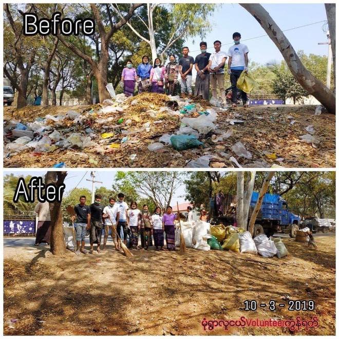 viral challenge bersih sampah © berbagai sumber