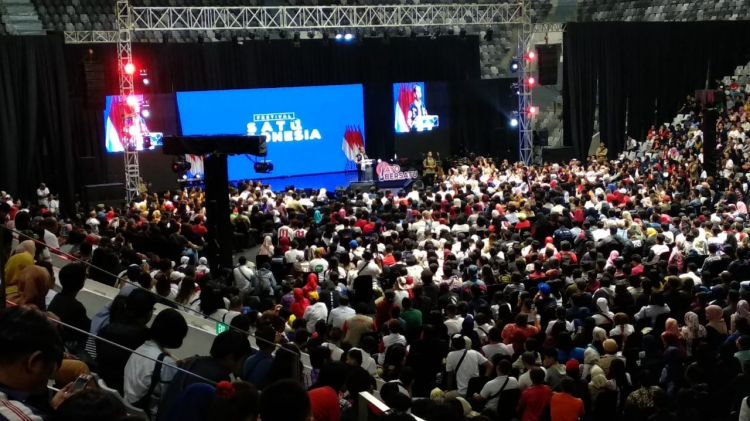 Festival Satu Indonesia ajak anak muda cerdas dalam Pemilu