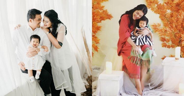 7 Gaya pemotretan keluarga Kahiyang, pose Sedah Mirah ekspresif