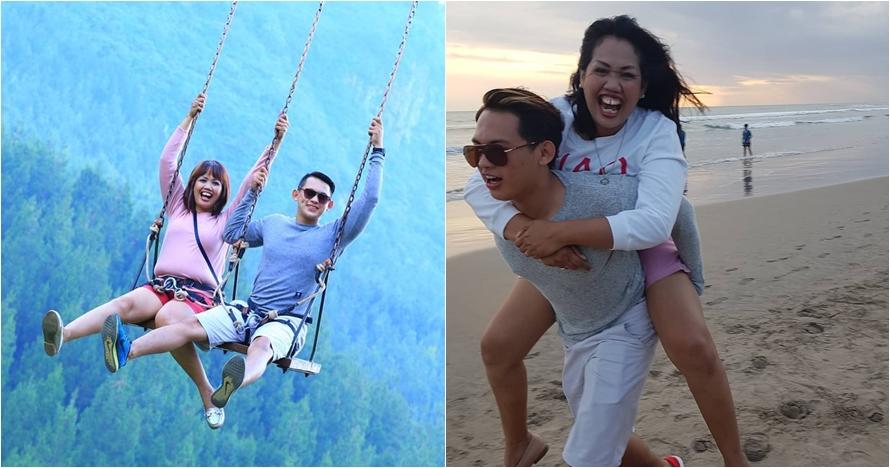 10 Gaya pelesiran Ely Sugigi & Irfan, berdua jelajahi Indonesia