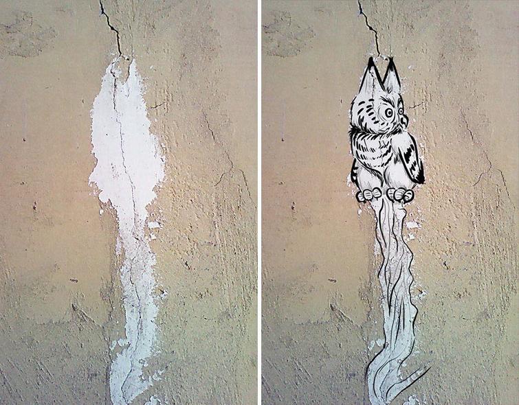 ilustrasi tembok rusak © 4tololo.ru