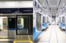 17 Potret MRT Jakarta dan stasiunnya yang akan beroperasi, keren