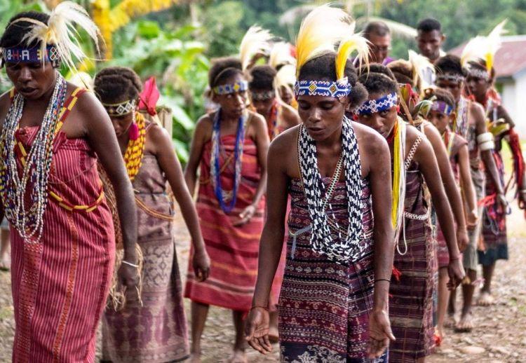 Mengenal Tari Kafuk, tarian magis khas Papua
