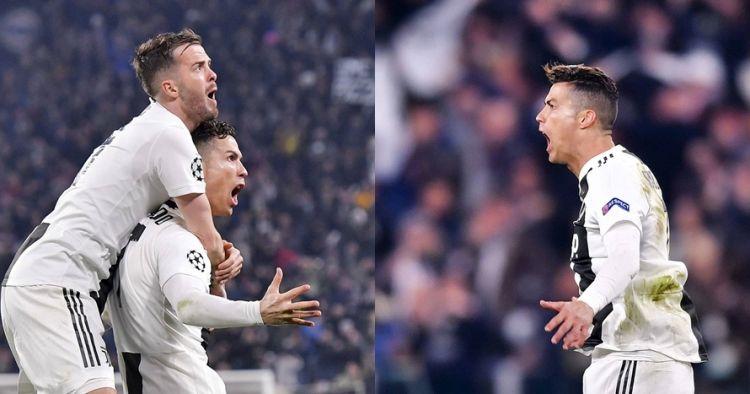 Cetak hattrick, Ronaldo balas selebrasi 'selangkangan' Simeone
