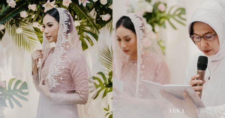 8 Momen pengajian kekasih Ryuji Utomo jelang menikah, penuh doa