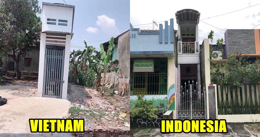 Rumah lebar 1 meter juga ada di Indonesia, begini penampakannya
