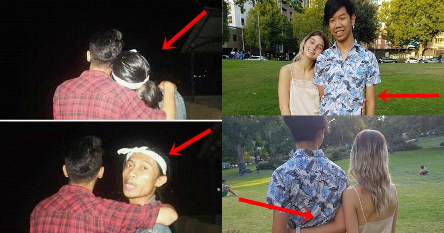 Sekilas mesra, 10 foto pasangan ini aslinya bikin senyum kecut