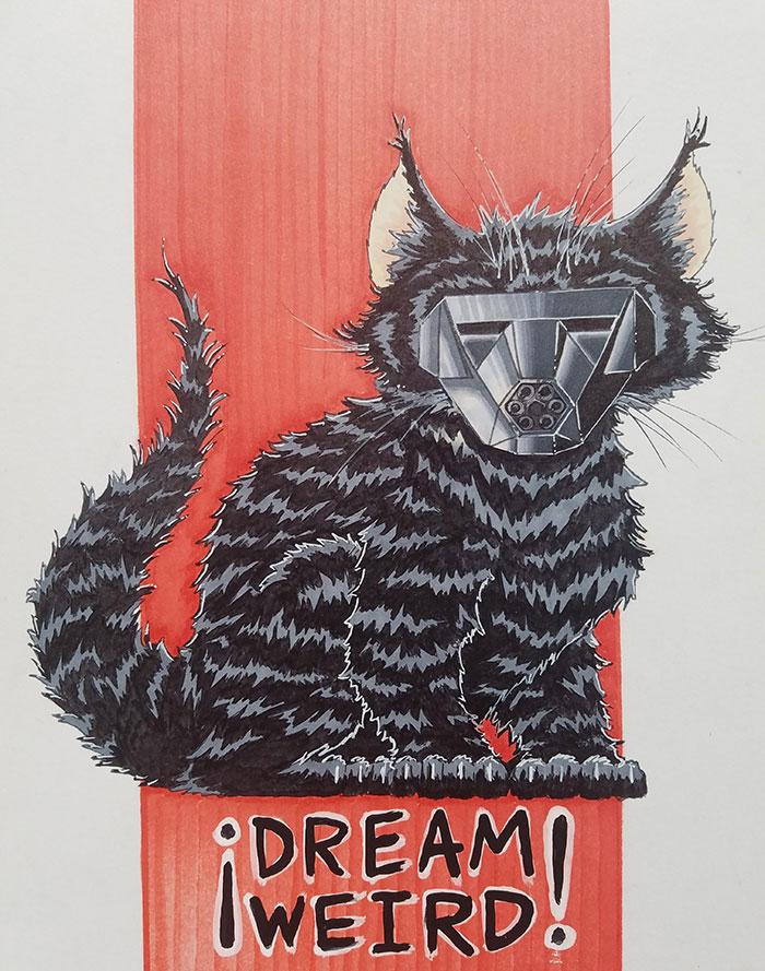 lukisan dari mimpi  © boredpanda.com