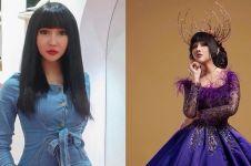 10 Potret Lucinta Luna saat kenakan gaun mewah, bikin heboh