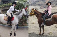 7 Seleb ini gemar olahraga berkuda, termasuk Syahrini
