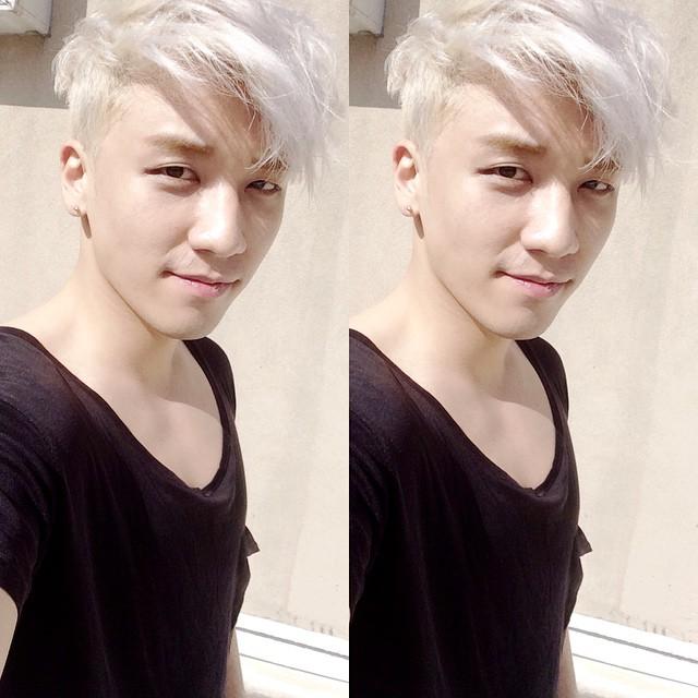 gaya rambut seungri Instagram @seungriseyo
