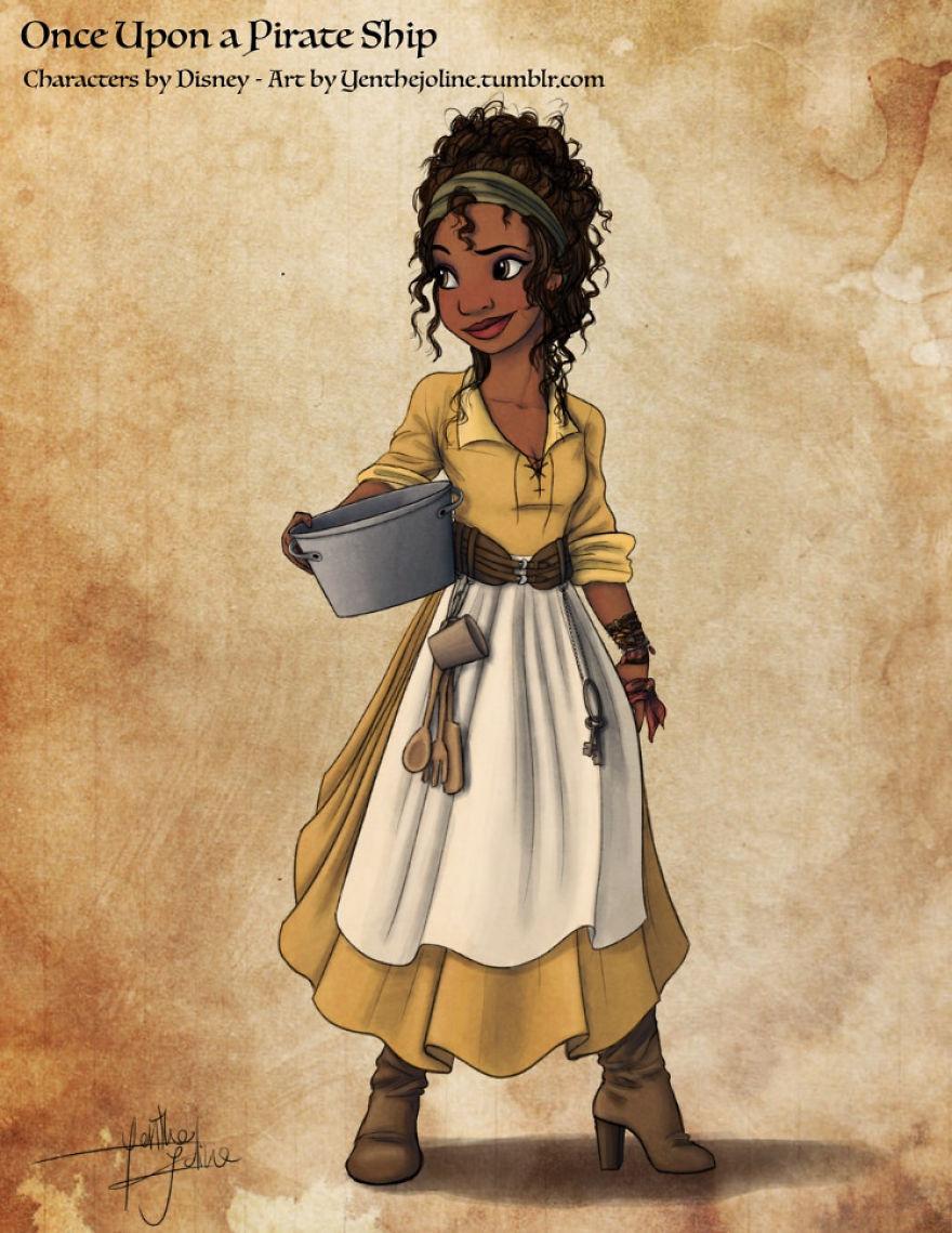 putri Disney jadi bajak laut instagram