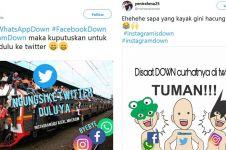 9 Cuitan lucu ketika Facebook & Instagram down ini bikin ketawa