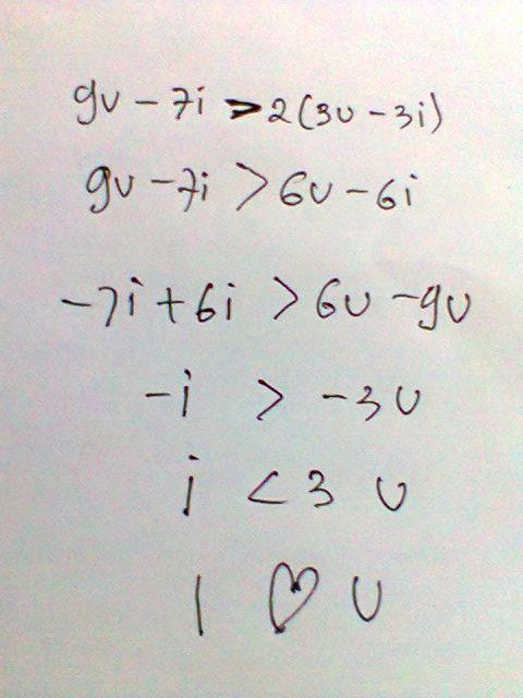 gombalan rumus matematika © 2019 berbagai sumber