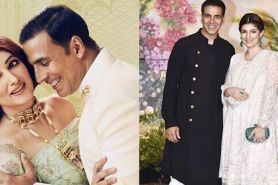 Jarang unggah foto bareng, ini 7 momen mesra Akshay Kumar & istri