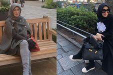 Harga 10 tas yang dipakai Amy Qanita saat liburan ini bikin melongo