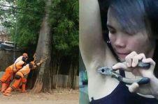 10 Foto lucu aktivitas orang yang sia-sia ini bikin gagal paham