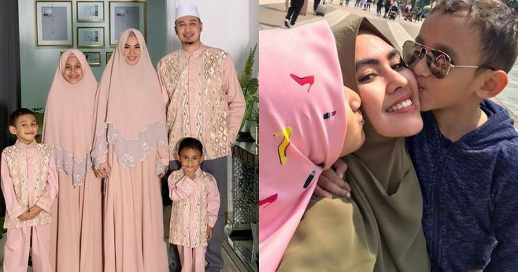 10 Momen akrab Kartika Putri & anak Habib Usman, penuh kehangatan