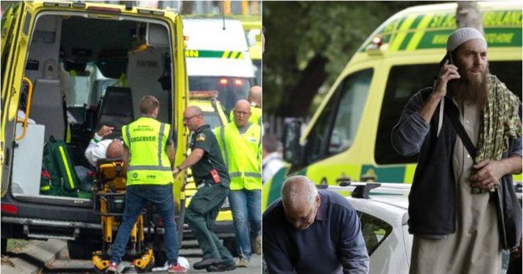 Momen mengerikan penembakan masjid di Selandia Baru, ini kronologinya