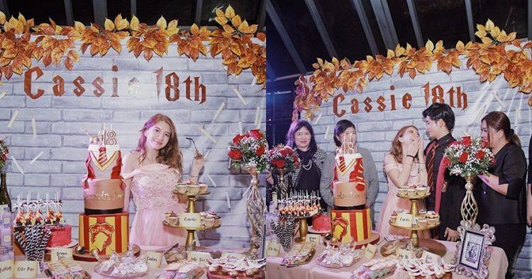 Genap 18 tahun, 11 momen ultah Cassandra Lee bertema Harry Potter