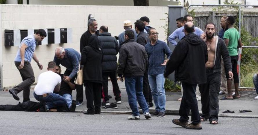 Penembakan Di Selandia Photo: Ini Yang Dikatakan Teroris Penembakan Masjid Di Selandia Baru