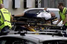 Penampakan pelaku teror masjid di Selandia Baru saat di pengadilan