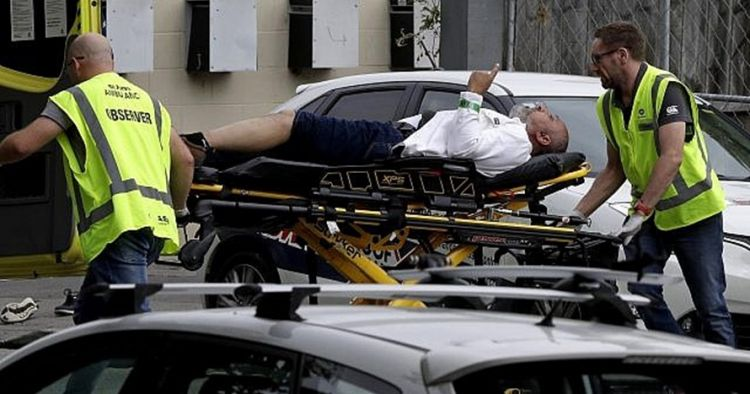 Pelaku Penembakan Masjid Christchurch Detail: Penampakan Pelaku Teror Masjid Di Selandia Baru Saat Di