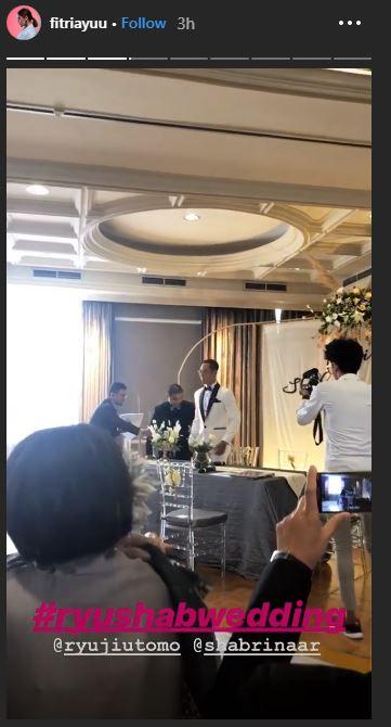 pernikahan Ryuji dan Shabrina © 2019 Instagram